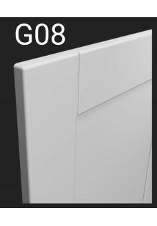 Kalvopinnoitettu ovi Aster G08
