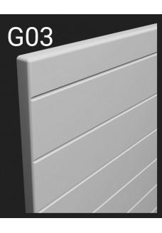 Kalvopinnoitettu ovi Aster G03
