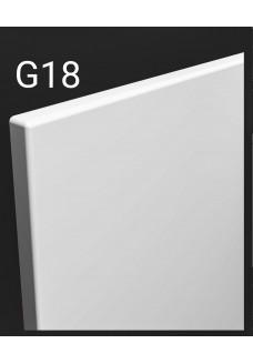 Kalvopinnoitettu ovi Aster G18