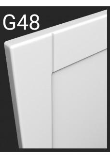 Kalvopinnoitettu ovi Aster G48