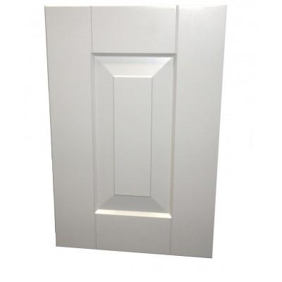 Maalttu valkoinen MDF vaatekaapin ovi. Hintalaskuri.