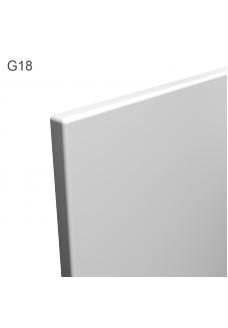 MADDE - Puhtaan valkoinen matta keittiökaapin ovi. Hintalaskuri.