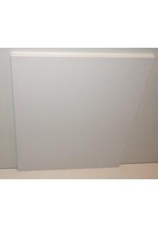 Valkoinen pöytälevy 595 x 700 mm