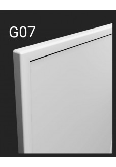 Kalvopinnoitettu ovi Aster G07