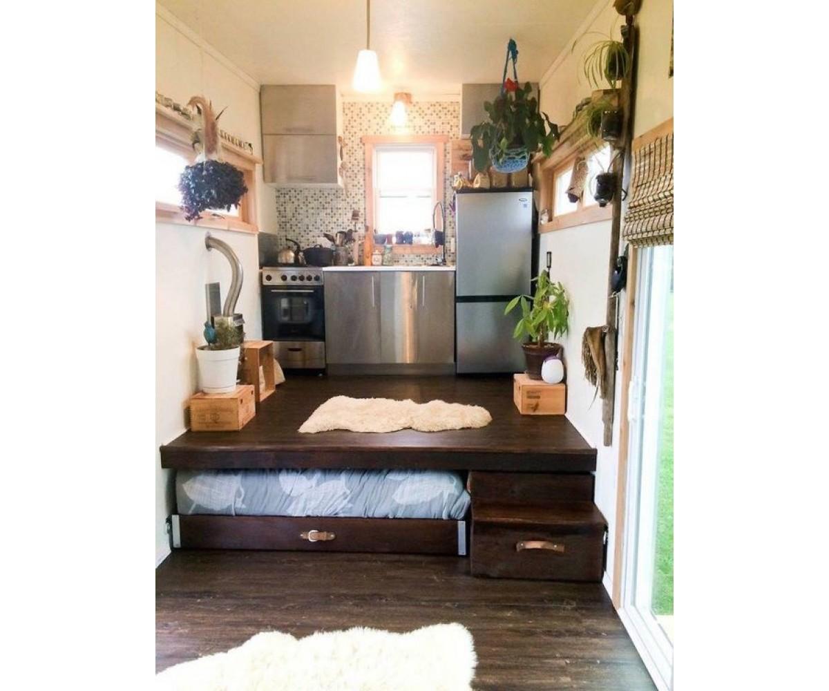 Piilos nky taittos nky piilopeti for Tiny house with main floor bedroom